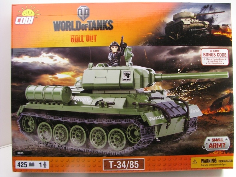 Cobi 3003 Tank T-34/85 World of Tanks Small Army