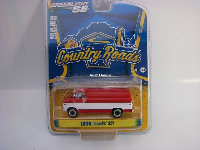 Chevrolet G20 Van 1976 1:64 Greenlight