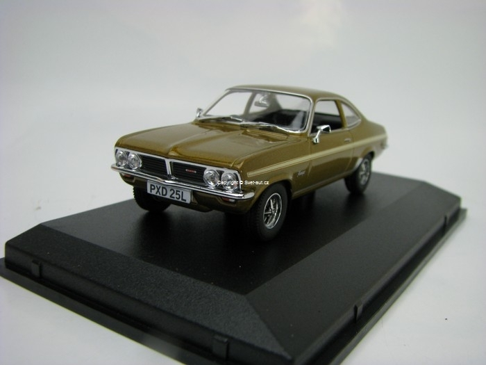Vauxhall Firenza Sport SL Honey Starmist 1:43 Oxford