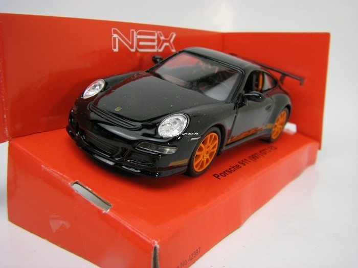 Porsche 911 (997) GT3 RS Black 1:32 - 39 Welly