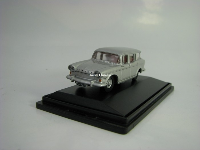 Humber Super Snipe Estate Silver Grey 1:76 Oxford