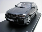 BMW X4 Sophisto Grey 1:18 Paragon Models