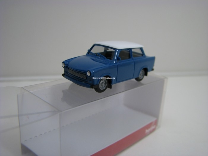Trabant 601 Limousine Blue 1:87 Herpa