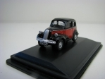 Ford Popular Red Black 1:76 Oxford