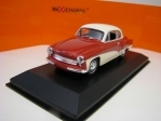 Wartburg 311 Coupé 1958 Red/White 1:43 Maxichamps