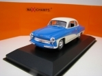 Wartburg 311 Coupé 1958 Blue/White 1:43 Maxichamps